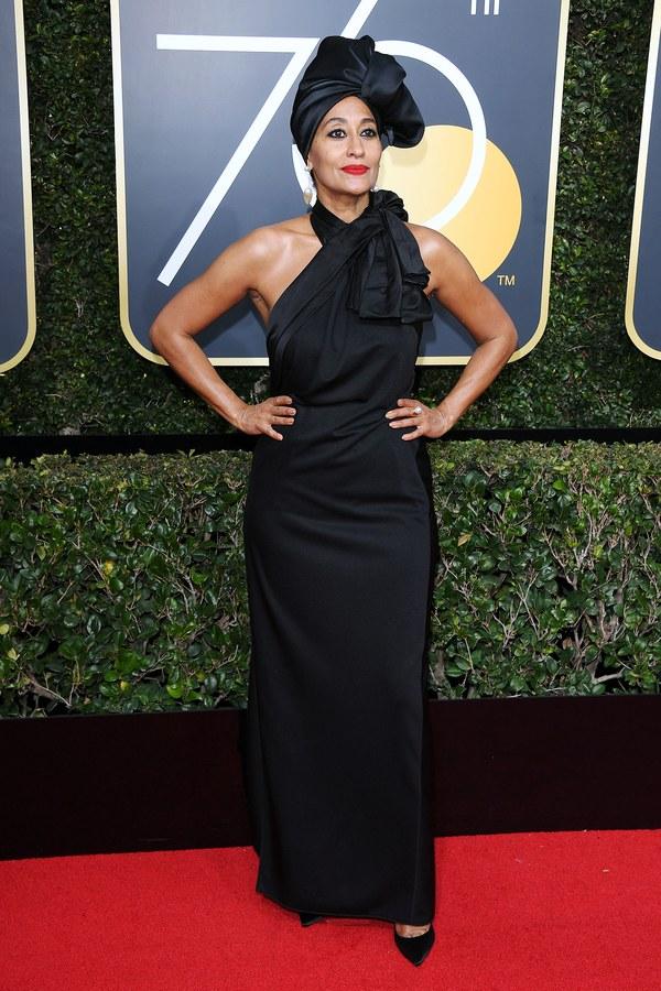 Церемония награждения Golden Globes 2018. Трейси Эллис Росс