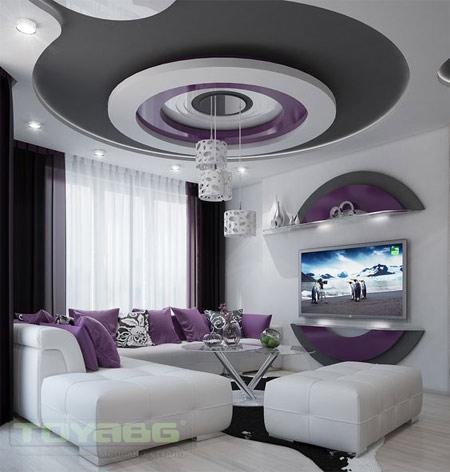 Тренды дизайна интерьера: потолок - это акцент