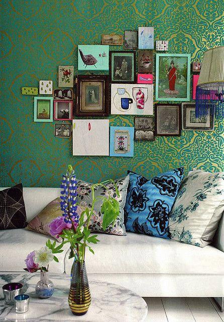 Тренды дизайна интерьера: стены в картинах или фотографиях