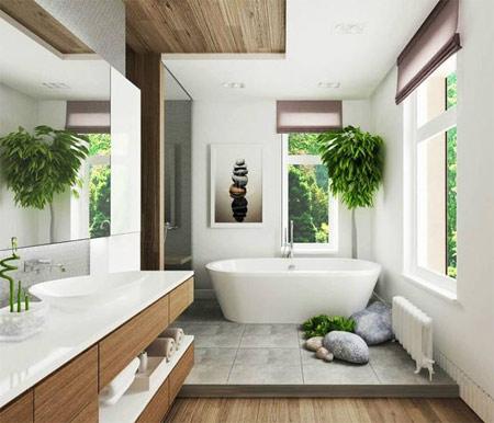 Ванная комната для прекрасных фоток в инстаграме