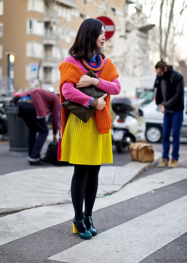 Одежда в стиле color block