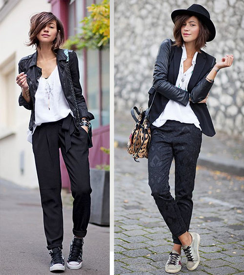 Кеды на городских модницах