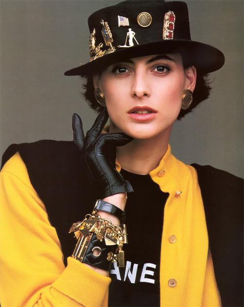 Инес де ля Фрессанж в молодости - 1986 год