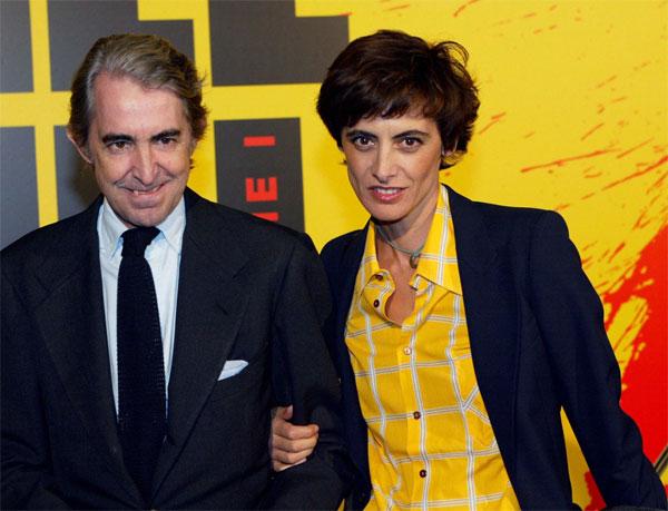 Инес де ля Фрессанж и Луиджи д'Урсо