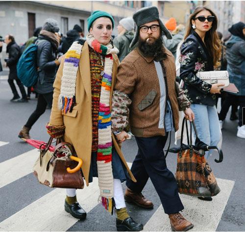 Уличный стиль Милана 2018