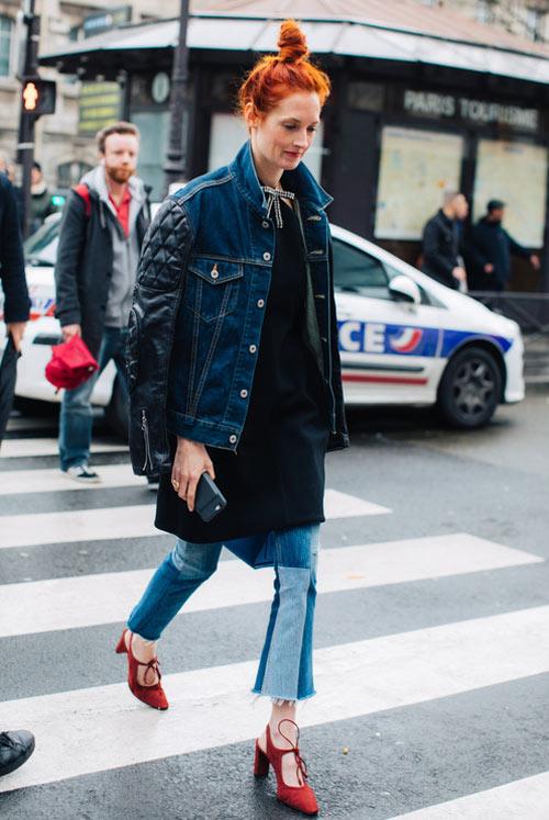 Джинсы и джинсовая куртка - маст хэв 2018