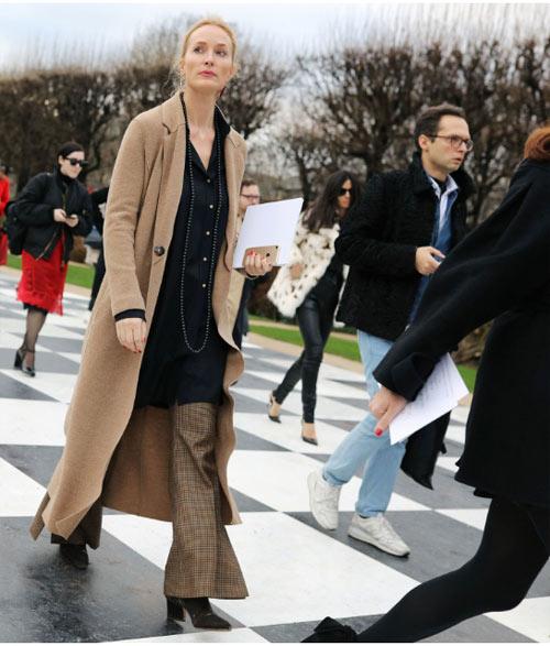 Уличный стиль Парижа 2018