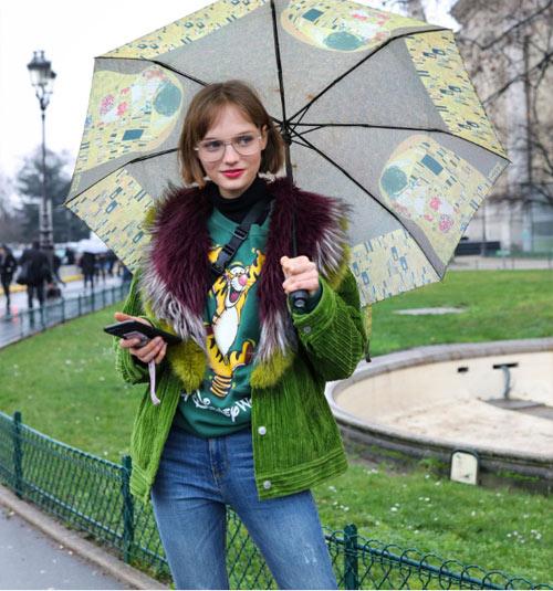 Модная куртка оверсайз для весны 2018