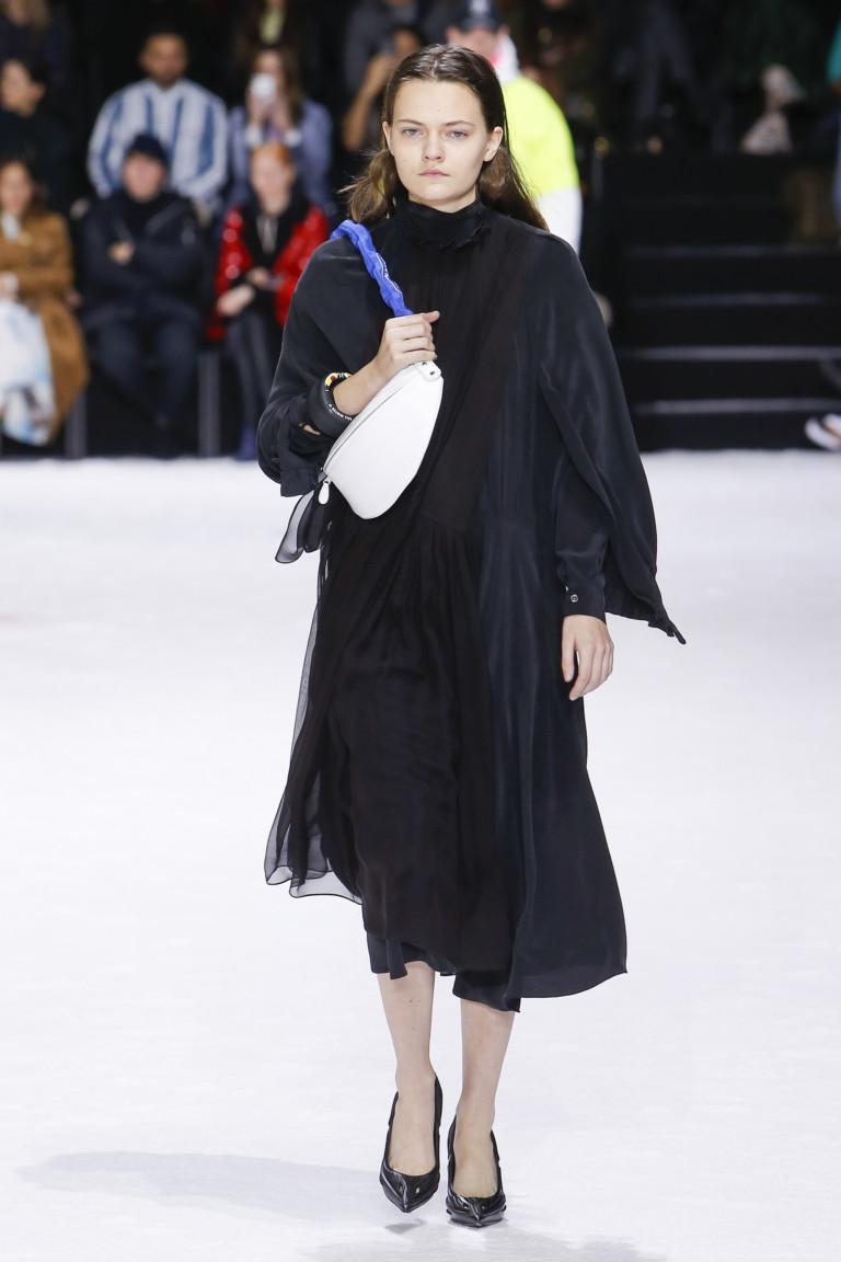 Массивная цепь на шею. Коллекция осень-зима 2018-2019 Balenciaga