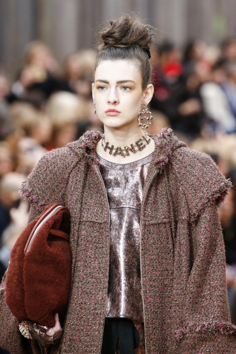 Колье Chanel из осенне-зимней коллекции 2018-2019