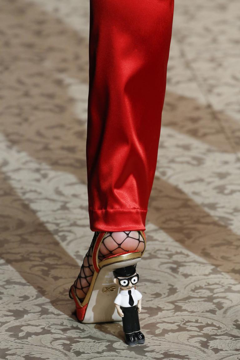Осенне-зимняя коллекция 2018-2019 Dolce&Gabbana