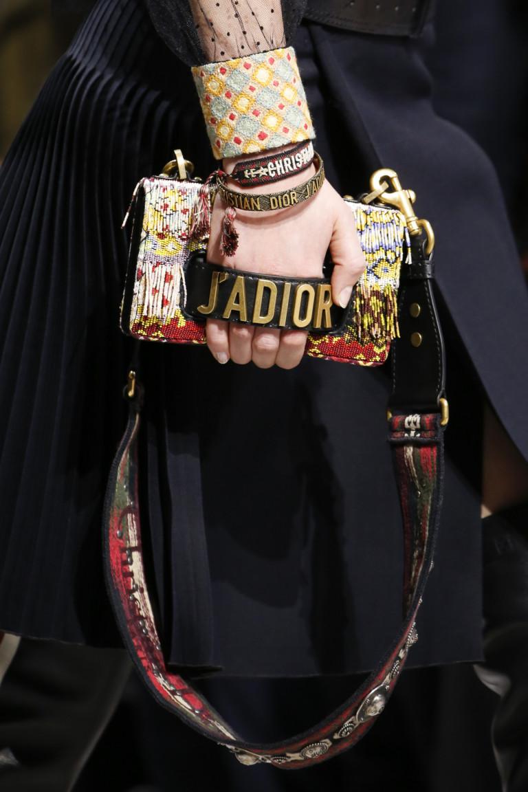 Модный клатч Dior из осенне-зимней коллекции 2018-2019