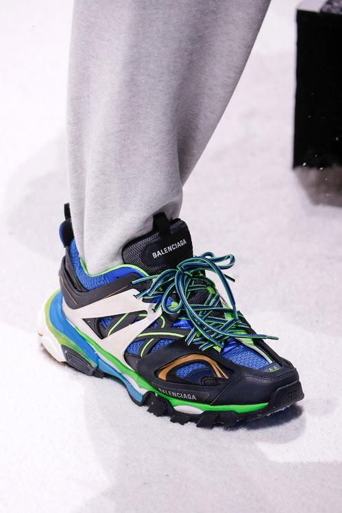 Кроссовки на шнурках Balenciaga осень-зима 2018-2019