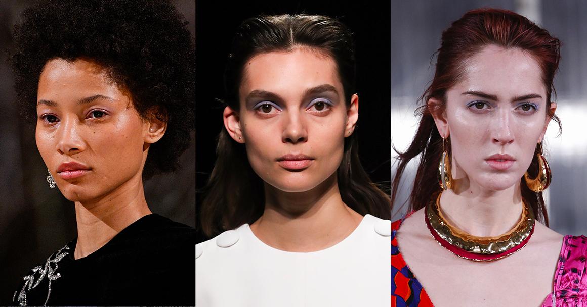 Модный макияж глаз осень-зима 2018-2019