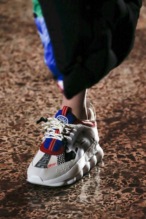 Versace кроссовки для осени 2018