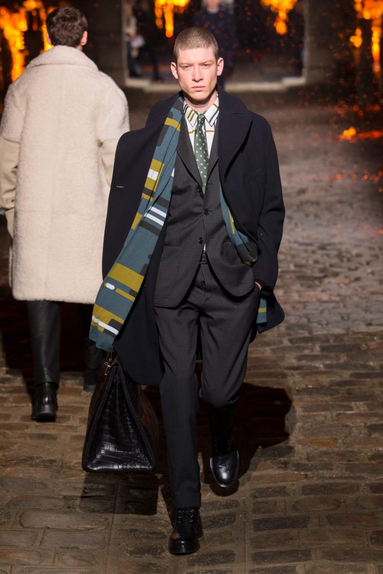 Мужская деловая мода осень-зима 2018-2019. Коллекция Hermès