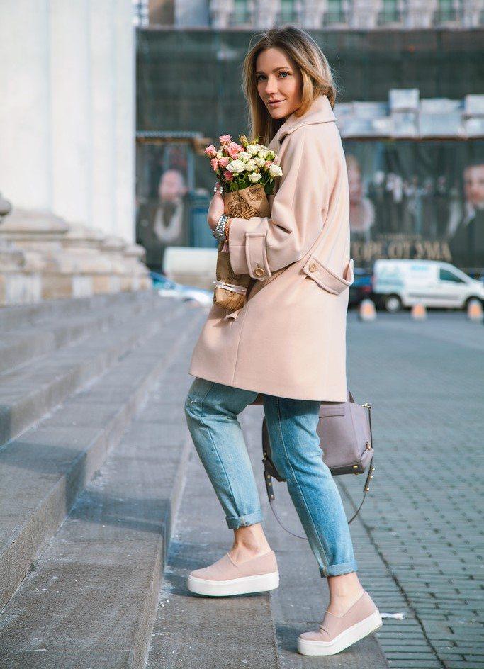С чем носить обувь на толстой подошве - с любыми джинсами