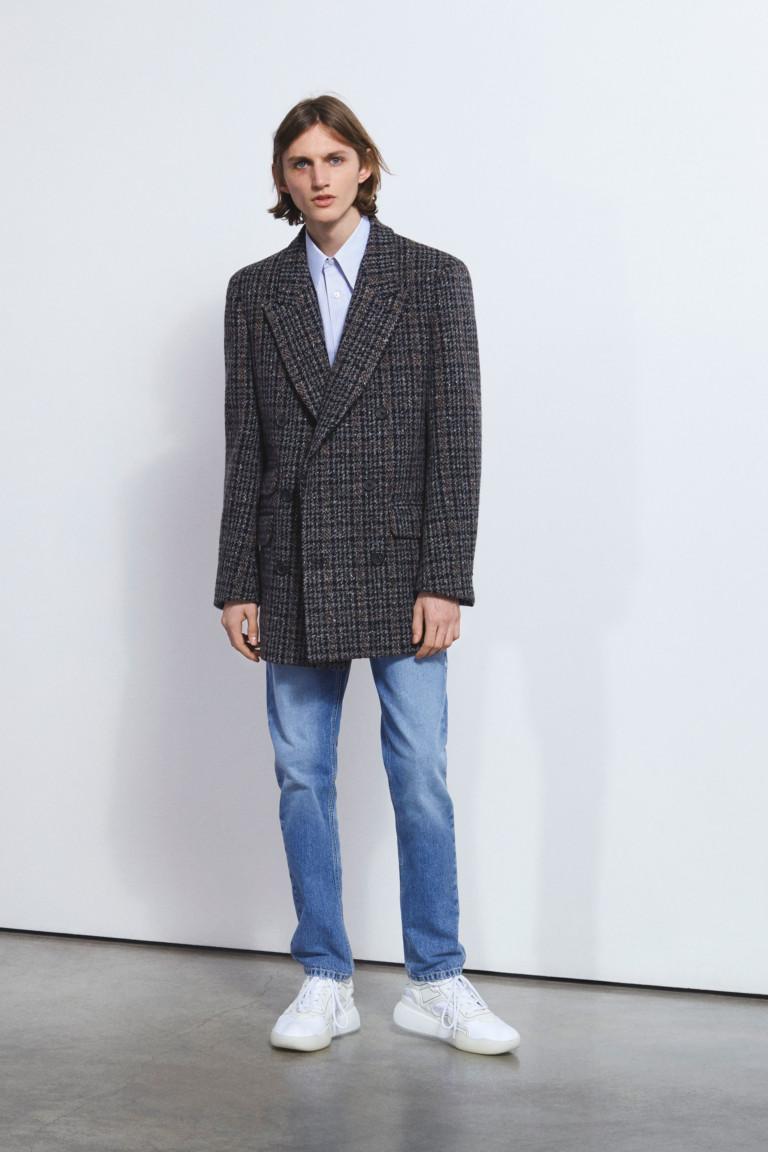 Мужской пиджак оверсайз из осенне-зимней коллекции Stella McCartney осень-зима 2018-2019