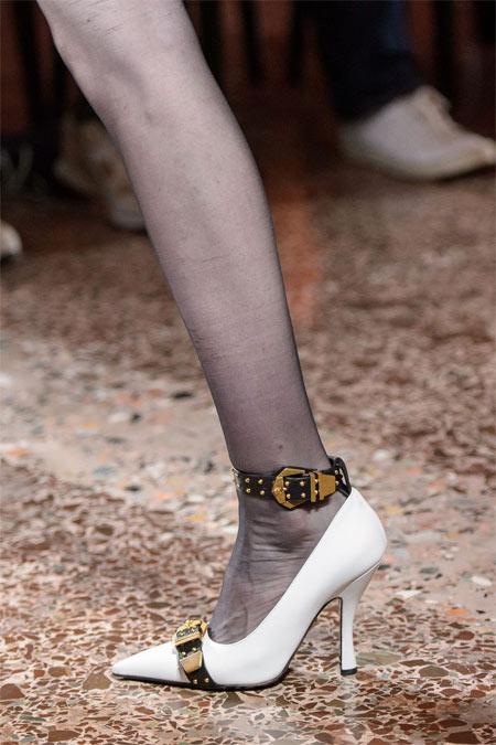 Модные туфли Versace 2018-2019