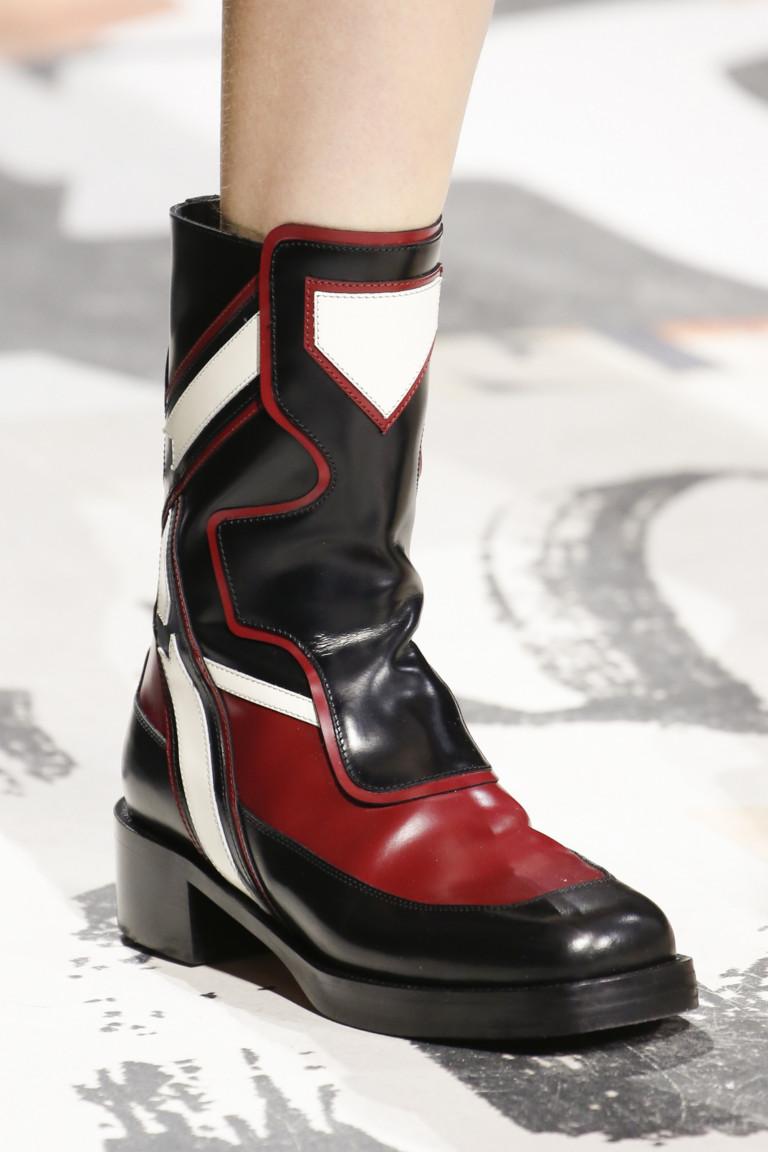 Ботинки с квадратным носком из коллекции Christian Dior