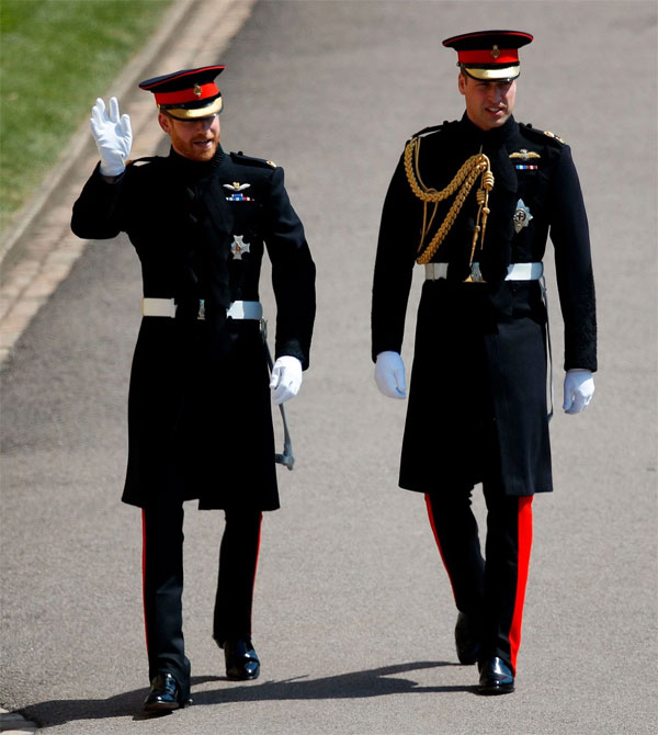 "Униформа the Blues and Royals"" by Dege & Skinner на принцах. Odd Andersen/Agence France-Presse — Getty Images"