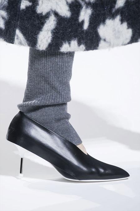Модные туфли из осенне-зимней коллекции Jil Sander 2018
