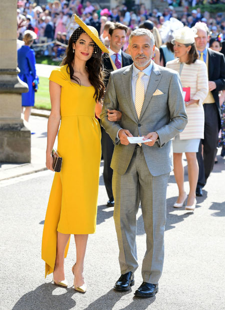 Амаль и Джорж Клуни -Getty Images
