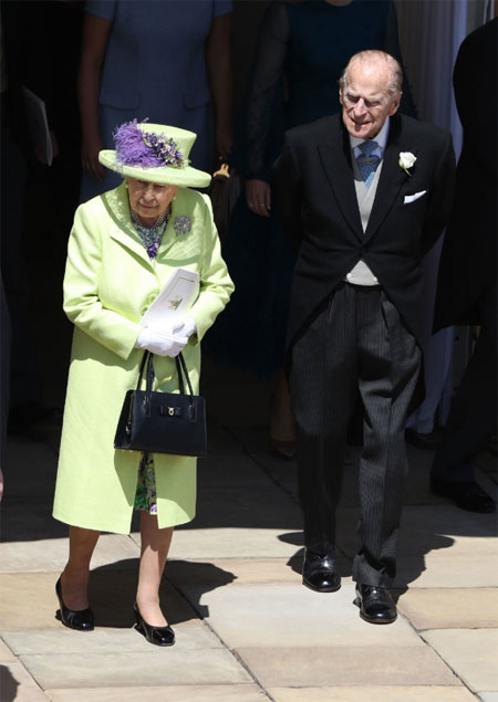 Королева Елизавета II и Принц Филипп Getty Images