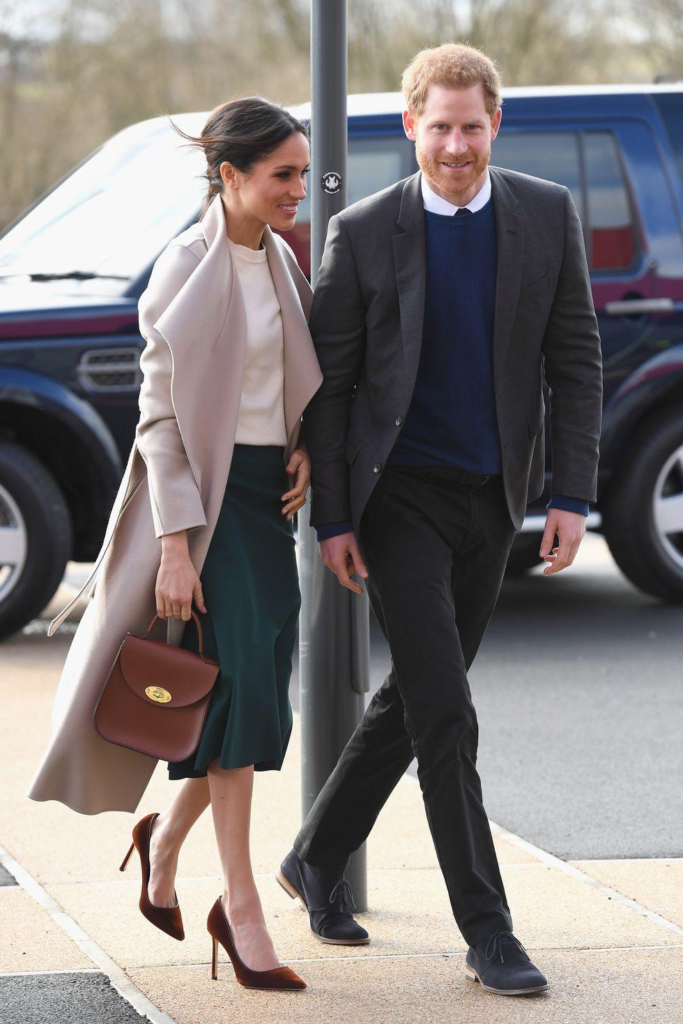 Меган Маркл и Гарри в стиле casual