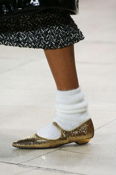 Модные туфли Мэри Джейн из осенне-зимней коллекции Miu Miu 2018-2019