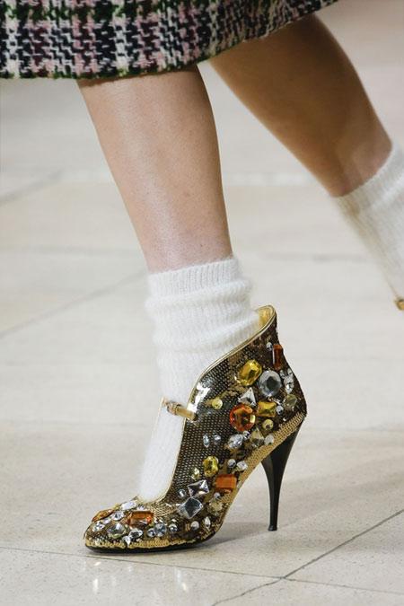 Вечерние туфли из осенне-зимней коллекции Miu Miu 2018