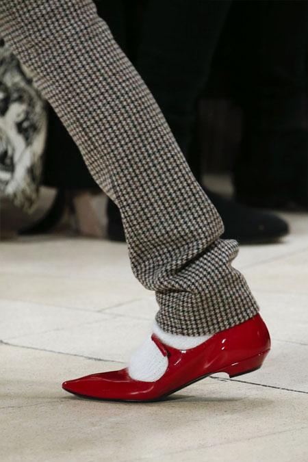 Модные туфли Мэри Джейн от Miu Miu FW 2018-2019