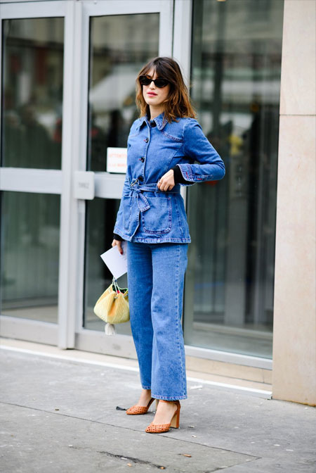 Total denim look 2018