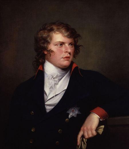 Портрет принца Августа Фредерика, герцога Сассекского (1773-1843), художник Гай Хэд, 1798 году