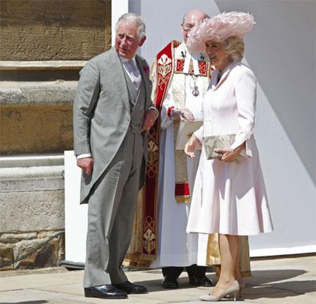 Отец Принца Гарри и мачеха, принц Чарльз и Камилла