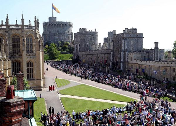 Королевская свадьба в Виндзорском дворце - Getty Images
