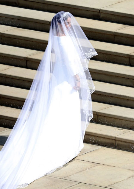 Свадебное платье Меган Маркл - Getty Images