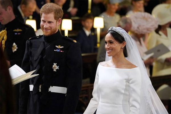 Свадьба Меган Маркл и Принца Гарри - Shutterstock