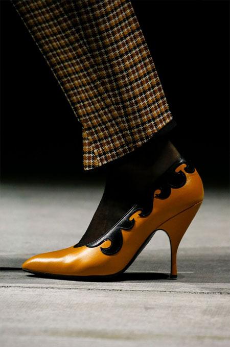 Модные туфли из коллекции Bottega Veneta осень-зима 2018-2019