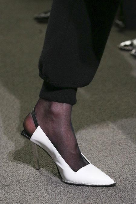 Туфли от Alexander Wang для осени 2018