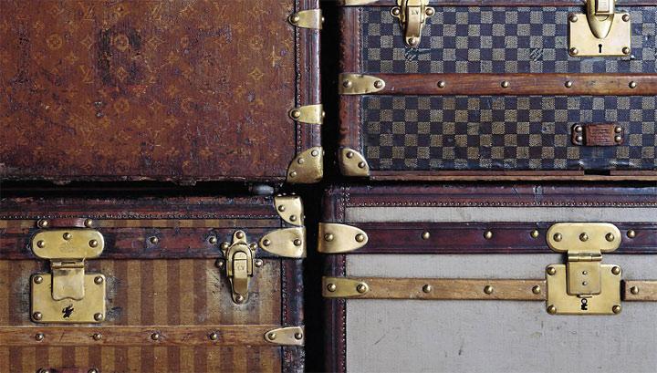 Первые чемоданы Louis Vuitton