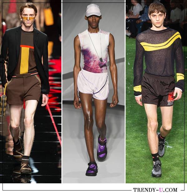 Модные мужские шорты от Fendi, Cottweiler и Off-White весна-лето 2019