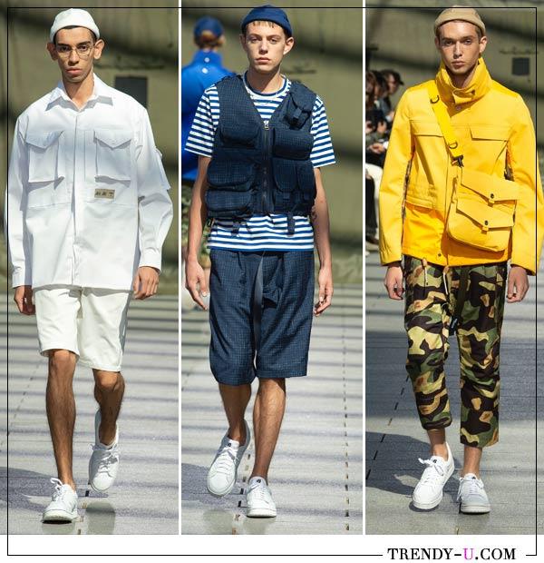 Образы из мужской весенне-летней коллекции Junya Watanabe