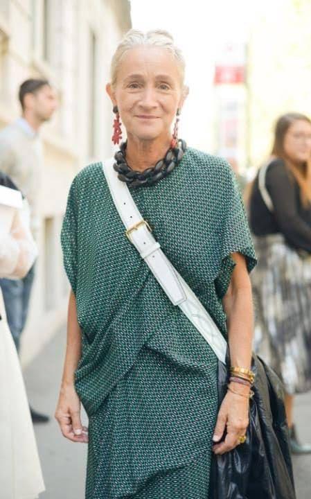 Директор отдела моды Vogue UK Люсинда Чемберс