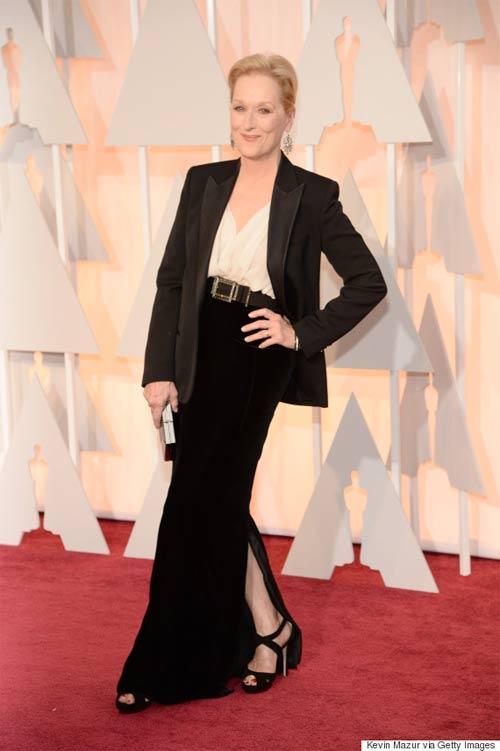 Образ Мерил Стрип для церемонии Оскар