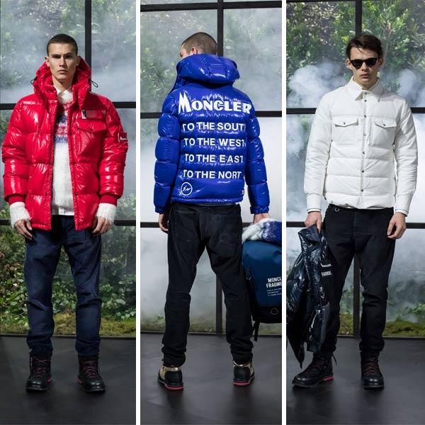 Мужские пуховики Мужская одежда в коллекции Moncler 7 Fragment Hiroshi Fujiwara осень-зима 2018-2019