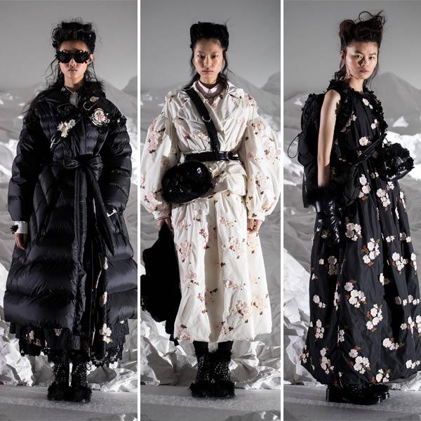 Женская одежда Moncler Simone Rocha 2018-2019