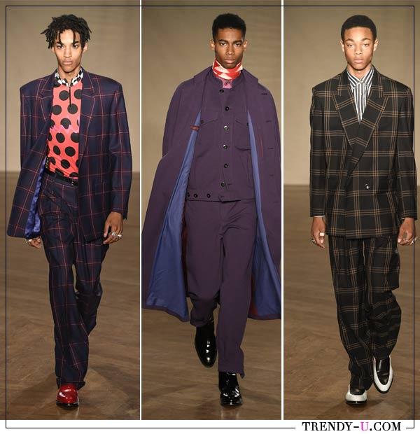 Мужские деловые костюмы из коллекции Paul Smith 2019