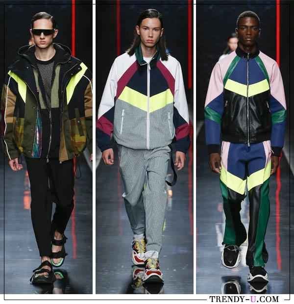 Мужская спортивная одежда в коллекции Disquared2