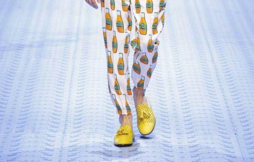 Желтые туфли мужские